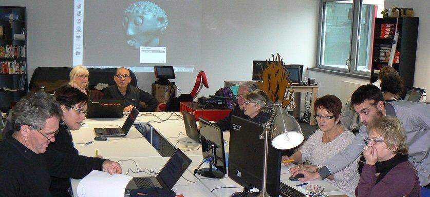 Atelier de modélisation 3D à zBis