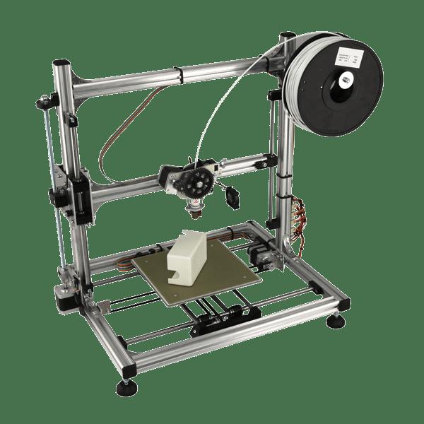 L'aspect final de l'imprimante après montage